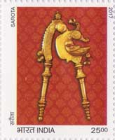 Commemorative Stamp on Commemorative Stamp on Splendours of India
