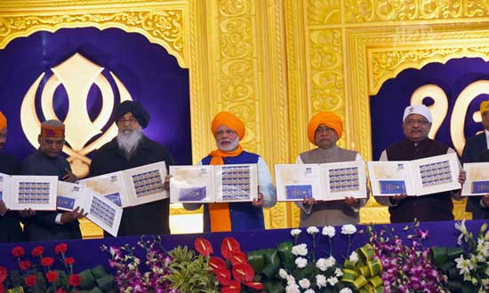 Commemorative Stamp on 350th Prakash Utsav – Guru Gobind Singh