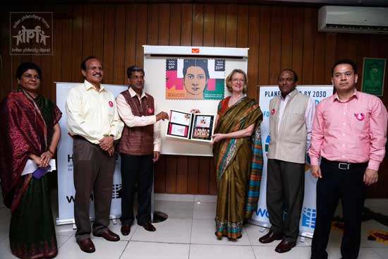 India – UN Joint issue, Women HeForShe