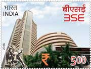 Commemorative Stamp on BSE