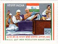 India's Struggle for Freedom; A.I.C.C. Quit India Resolution