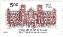Bicentenary of Madras G. P. O.