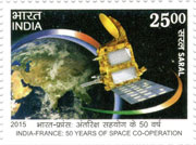 India – France: 50 Years of Space Co-operation