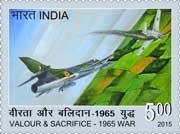 "Commemorative Stamps on ""Valour and Sacrifice-1965 War"""