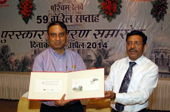 150 Glorious Years of Western Railway (erstwhile BB&CI) in Mumbai Special Cover Release Function