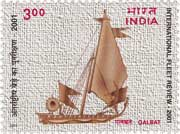 Four Stamps issued on President's Fleet Review 2001