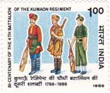 Bicentenary of 4th Battalion of the Kumaon Regiment