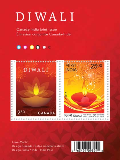 Canada India Joint Issue Miniature Sheet