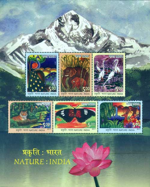 Commemorative Stamps on Nature India
