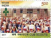 Commemorative Stamp on Cub Scouts