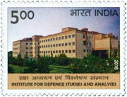 Commemorative Stamp on Institute for Defence Studies and Analyses (IDSA)