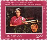 Indira Gandhi - Crusador for World Peace
