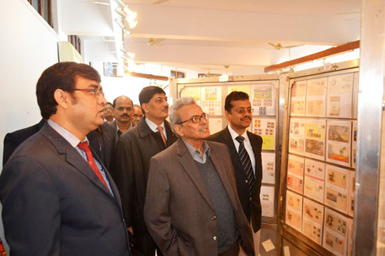 Allaphilex-2015, Philatelic Exhibition at Allahabad