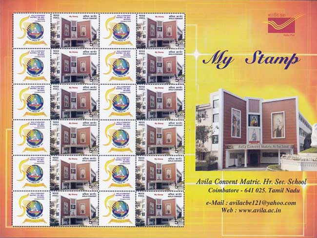 My Stamp on Avila Convent Matriculation Higher Secondary School