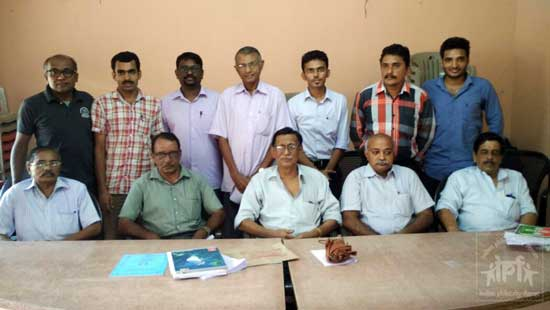 New Governing Council of The Calicut Philatelic Club.