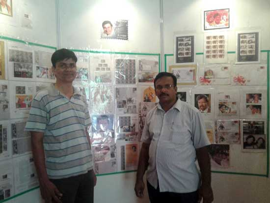 Philatelic Exhibition on Indian Cinema at Bangalore