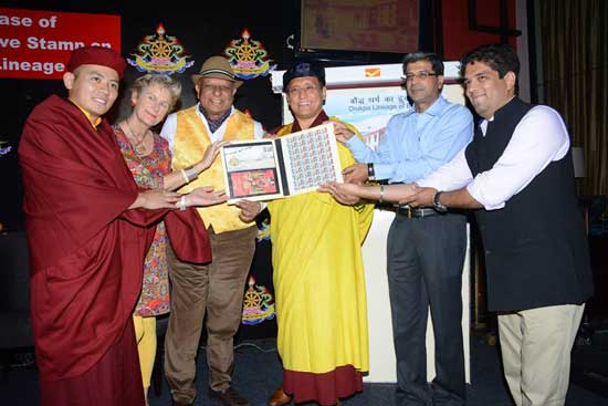 Drukpa Lineage of Buddhism Stamp release function