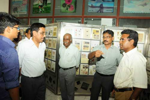 Philatelic Exhibition on FIFA and Foot ball at Chennai
