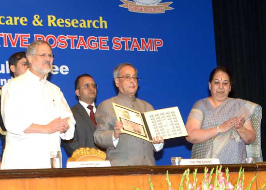 50 Years of Govind Ballabh Pant Hospital Stamp Release Function