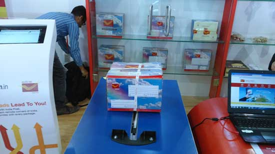 'India Post' Pavilion at Vibrant Gujarat Global Trade Show 2015, Gandhinagar, Gujarat