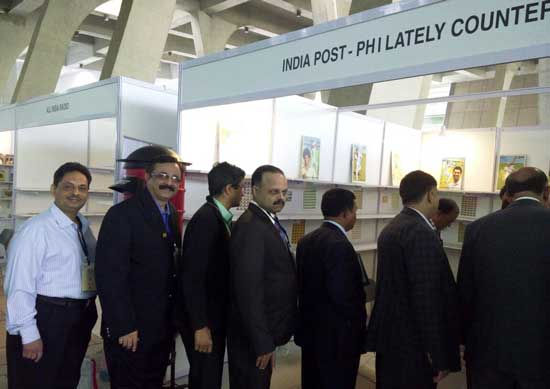 India Post Philatelic Counter at Mahatma Mandir
