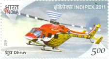 First scheduled Helicopter Mail Service in India