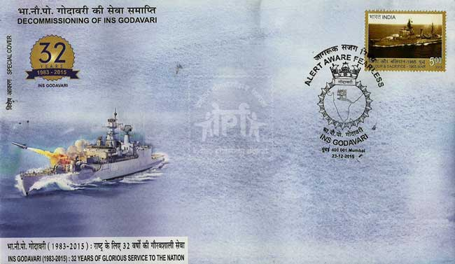 Special Cover on Decommissioning of INS Godavari