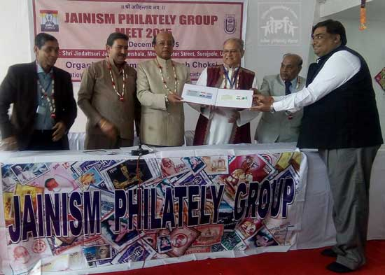 Jainism Philately Group National Meet at Udaipur