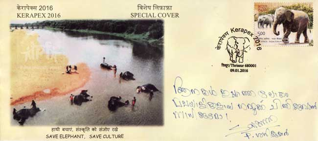 Special Cover on Save Elephant – Save Culture