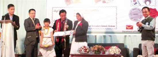 Kohimapex-2015, Kohima district level philatelic exhibition at Kohima