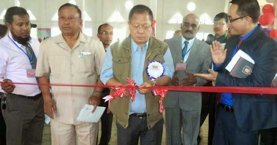 Manipex-2015, Philatelic Exhibition at Churachandpur (Lamka)