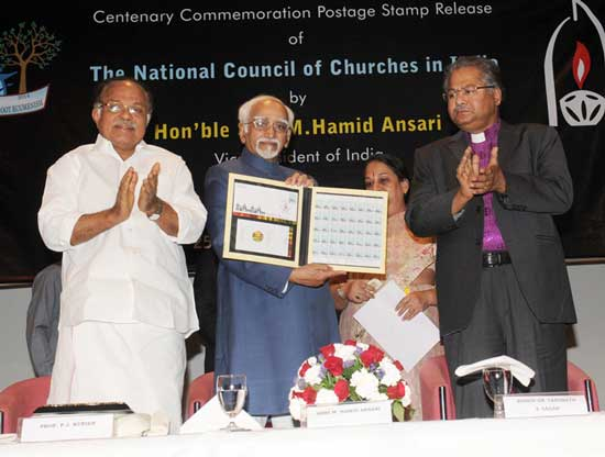 National Council of Churches in India Stamp Release Function