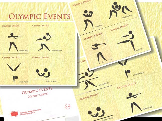 Picture Postcards on Olympic Events