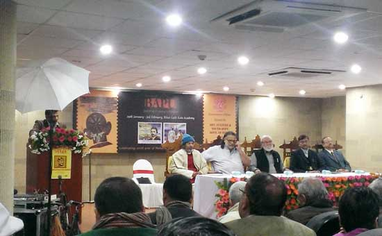 Art and Stamp exhibition on Mahatma Gandhi at Patna