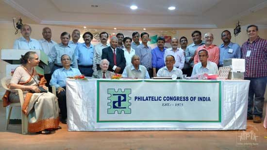 New Governing Council of Philatelic Congress of India