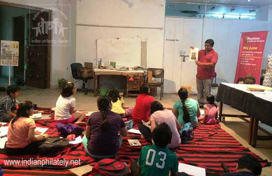 Philately Workshop at National Museum, New Delhi