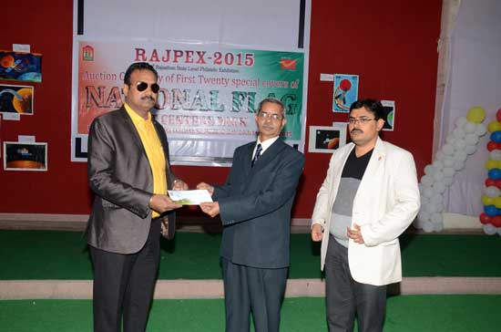 Auction of Special Covers at Rajpex 2015
