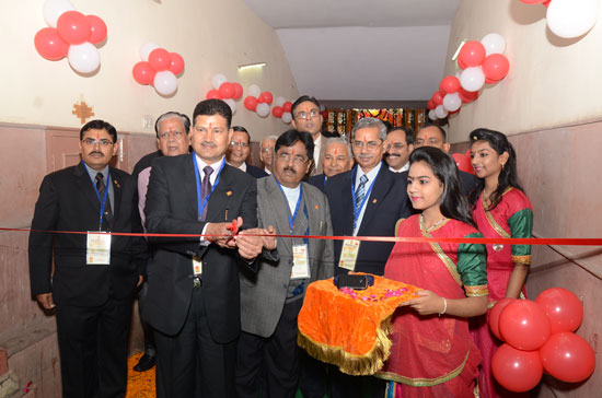 Rajpex-2015, 14th Rajasthan State Level Philatelic Exhibition Inauguration