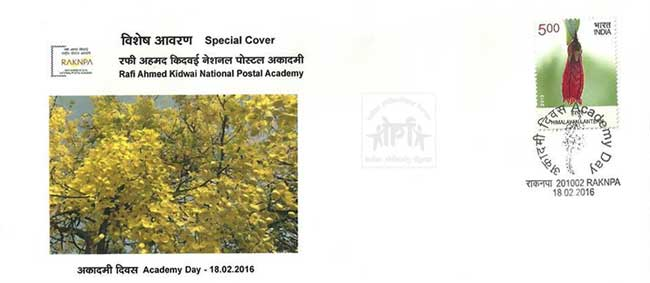 Special Cover on 3rd Academy Day of Rafi Ahmed Kidwai National Postal Academy (RKNPA)