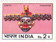 Indian Masks - Ravana