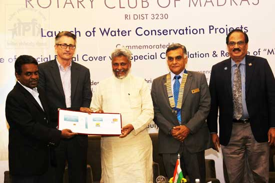Special Cover on Water Conservation Project