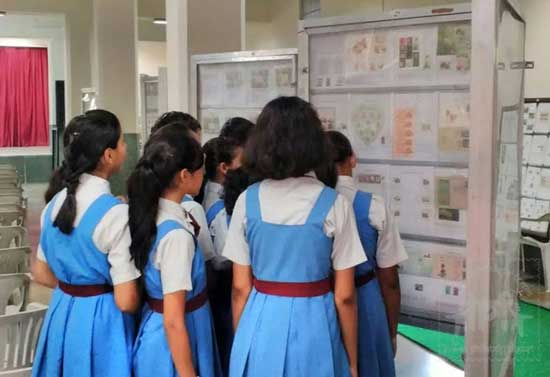 Schoolpex 2015, 19th Inter School State Level Stamp Exhibition
