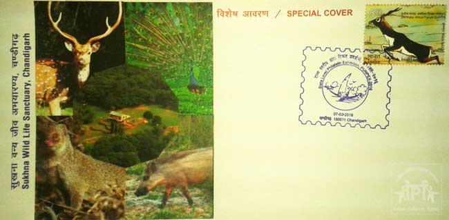 Special Cover on Sukhna Wild Life Sanctuary, Chandigarh