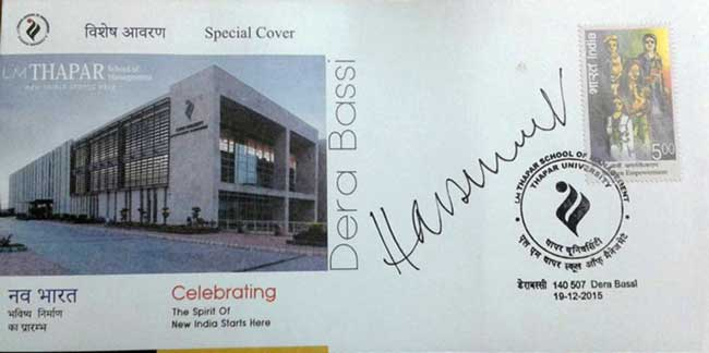 Special Cover on L. M. Thapar School of Management