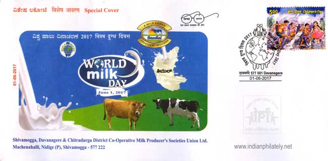Special Cover on World Milk Day