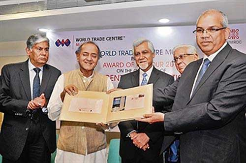 World Trade Center, Mumbai Special Cover release function